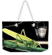 La Locusta E Il Secchio Weekender Tote Bag