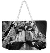 La Lonja Angels Black And White Weekender Tote Bag