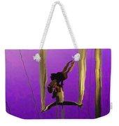 La Loupiote In Lavender Weekender Tote Bag
