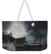 La Luna Bianca Weekender Tote Bag