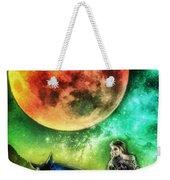 La Luna Weekender Tote Bag by Mo T