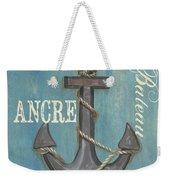 La Mer Ancre Weekender Tote Bag by Debbie DeWitt