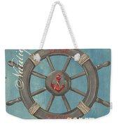 La Mer Compas Weekender Tote Bag by Debbie DeWitt