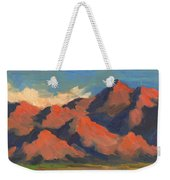 La Quinta Mountains Morning Weekender Tote Bag