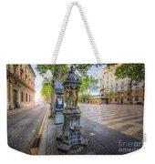 La Rambla Fountain  Weekender Tote Bag