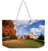 La Roche College On A Fall Day Weekender Tote Bag