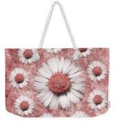 La Ronde Des Marguerites - Pink 02 Weekender Tote Bag