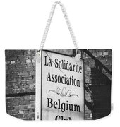 La Solidarite Association Belgium Club Weekender Tote Bag
