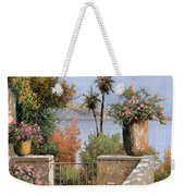 La Terrazza Un Vaso Due Palme Weekender Tote Bag