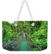 La Tirimbina Suspension Bridge Weekender Tote Bag