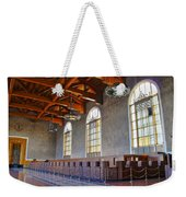 Los Angeles Union Station At Its 75th Anniversary Weekender Tote Bag