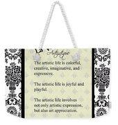 La Vie Artistique Weekender Tote Bag