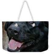 Lab Smile Weekender Tote Bag