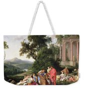 Laban Searching For The Idols, 1647 Oil On Canvas Weekender Tote Bag