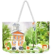 Labor Day Morning  Weekender Tote Bag