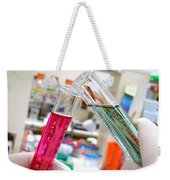 Laboratory Experiment In Science Research Lab Weekender Tote Bag