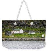 Labrador Fish Camp Weekender Tote Bag by Ben Shields