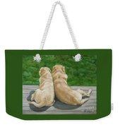 Labrador Lazy Afternoon Weekender Tote Bag