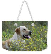Labrador Retriever Dog Weekender Tote Bag