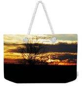 Lacassine Painted Sunset Weekender Tote Bag
