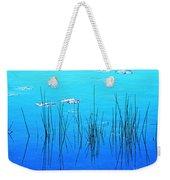 Lacassine Pool Reeds Weekender Tote Bag