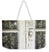 Lace Curtains Weekender Tote Bag