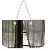 Lace Window Covering. Weekender Tote Bag