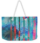 Lacerations Have Wounded  Weekender Tote Bag
