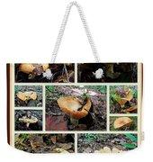 Lactarius Torminosus - Yellow Mushrooms Weekender Tote Bag