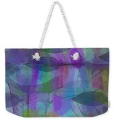 Lacy Leaves Weekender Tote Bag