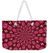 Lacy Orchid Kaleidoscope Weekender Tote Bag