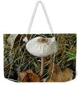 Lacy Parasol Mushroom Weekender Tote Bag