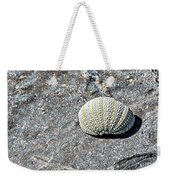 Lacy Shell On A Beachrock Weekender Tote Bag