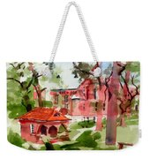 Lacy Spring Greens At Ursuline Academy Weekender Tote Bag