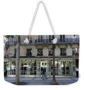 Laduree On The Champs De Elysees In Paris France  Weekender Tote Bag
