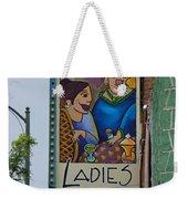 Ladies Cafe Weekender Tote Bag
