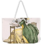 Ladies Elaborate Gown, Engraved Weekender Tote Bag
