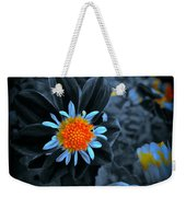 Ladies Gold Weekender Tote Bag