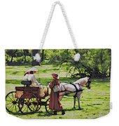Ladies In The Meadow Weekender Tote Bag