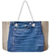 Ladies' Jeans Weekender Tote Bag