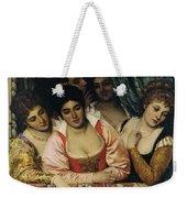 Ladies On A Balcony Weekender Tote Bag