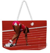 Ladies Get Set Weekender Tote Bag