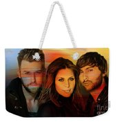 Lady Antebellum Weekender Tote Bag by Marvin Blaine