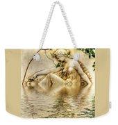 Lady Bathing 2 Weekender Tote Bag