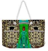 Lady Bear In The Jungle Weekender Tote Bag