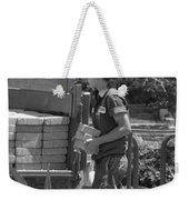 Lady Bricklayer Weekender Tote Bag