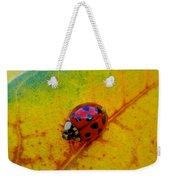 Lady Bug 3 Weekender Tote Bag