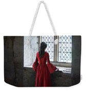 Lady By The Window Weekender Tote Bag