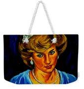 Lady Diana Portrait Weekender Tote Bag