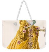 Lady In Grand Domino Dress To Wear Weekender Tote Bag